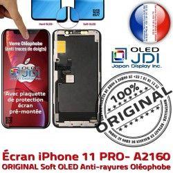 Tone Retina iPhone 5,8 Apple Chassis OLED Oléophob PRO ORIGINAL Super Tactile Affichage True SmartPhone pouces sur 11 Vitre Écran soft A2160