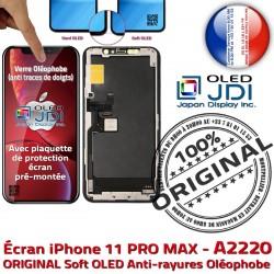 SmartPhone Verre Affichage HD OLED Châssis sur Tactile 11 PRO Super soft MAX True Écran iPhone ORIGINAL Réparation A2220 Tone Qualité Retina
