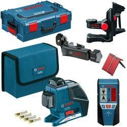 Bosch GLL 3-80 P 060106330A Le laser lignes multifonctions pour toutes les applications en intérieur