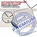 Joint Plastique iPad 4 N Adhésif Noir Châssis Vitre Autocollant Tablette Apple Ecran Contour ABS Precollé Réparation Tactile Cadre