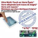 PACK iPad4 A1460 B PREMIUM 4 Precollé HOME KIT Adhésif Verre iPad Tactile Qualité Réparation Blanche Démontage Bouton Vitre Oléophobe Outils