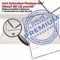 Joint Plastique iPad 3 A1430 N Autocollant Contour Adhésif Cadre Precollé Châssis Ecran Apple Vitre Tablette Tactile Noir Réparation