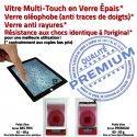 PACK Apple iPad Mini 1 Noir Tablette Nappe Qualité KIT Noire MINI1 Bouton Outil Réparation Verre PREMIUM Vitre Precollé Démontage Adhésif HOME Tactile