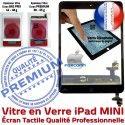 iPadMINI A1432 A1454 A1455 Noir Caméra Nappe Monté Fixation IC iPad Adhésif Filtre Bouton Home Réparation Verre MINI Tactile Ecran Oléophobe Tablette Vitre