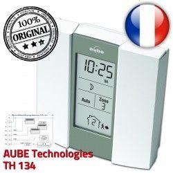 TH134 Programmateur Horaire Auto électronique AUBE Fil préprogrammé Commande Pilote 3 Téléphonique Chauffage Télécommande zones