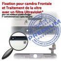 Mini3 iPad A1599 A1600 Blanc Oléophobe 3 Bouton Nappe Tablette MINI Adhésif Verre Fixation Tactile Caméra Réparation Filtre Vitre Home Ecran Monté