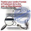 iPad Mini3 A1601 Blanc PREMIUM Ecran Bouton Filtre Adhésif Fixation Caméra Nappe Tablette Oléophobe Vitre Verre Réparation Tactile
