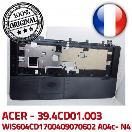 ACER Touchpad Case Portable A04c- Mouse KeyBoard N4 Cover Acer 50.4CD05.01 Boutons TOUCHPAD ASPIRE WIS604CD1700409070602 Frame 39.4CD01.003 JM70 PC