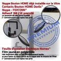 iPad AIR iPad5 Noir Réparation Adhésif Oléophobe Tablette Monté HOME Fixation Qualité Nappe Caméra 5 Verre Ecran Bouton Vitre Tactile