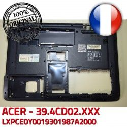 Coque 39.4CD02.XXX Case Cover ORIGINAL Bottom Arrière Frame ACER WIS604CD1000209070801 Bezel Back LXPCE0Y0019301987A2000 ASPIRE Acer