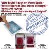 PACK iPad AIR A1474 B HOME Adhésif Vitre Verre Réparation Nappe PREMIUM Tactile KIT Precollé Outils Oléophobe Blanche Bouton Qualité