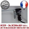 ACER Left Hinge écran 090723 Portable JM-70 W2 LCD Fixations 60.4CD36.001 Charnière Gauche ORIGINAL 34.3CD04.001 SZS-L A01 Montant PC