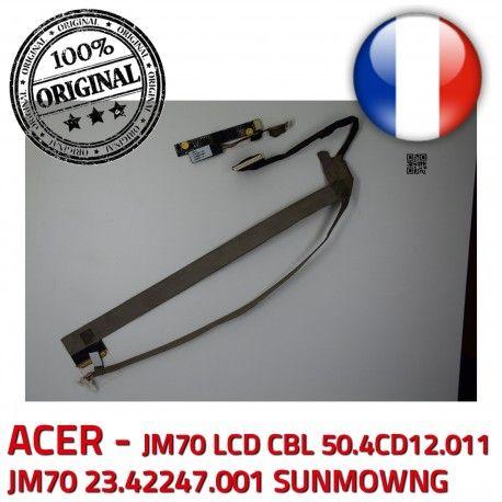 ACER Video Cable LCD 23.42247.001 ORIGINAL CBL JM70 Microphone VA-05 CN0314-SN30-OV03-5 B1928309309C Nappe SUNMOWNG 50.4CD12.011