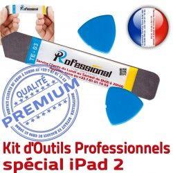 iPad2 KIT Compatible PN iPad A1396 Réparation Remplacement Tactile Démontage PRO A1395 A1397 Outils 2 Vitre Qualité Professionnelle Ecran iLAME iSesamo