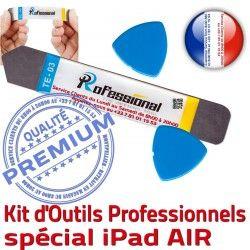 A1476 Vitre A1475 Professionnelle Outils Démontage PRO iPadAIR Réparation A1474 Compatible KIT AIR iPad iSesamo Tactile iLAME Qualité Remplacement Ecran