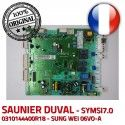 Saunier Duval SYMSI7.0 08/48 V S0080 C24 0310144400R18 6973 0020036711 E d'allumage 10024 IND electronique 3 Carte KWD Thema