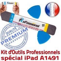 iLAME PRO Qualité Compatible iSesamo iPad Tactile Remplacement KIT Ecran iPadMini Démontage A1491 Vitre Outils Professionnelle Réparation