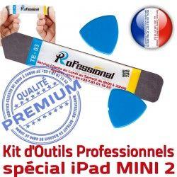 Professionnelle Réparation A1490 iPad KIT Ecran iPadM Vitre Qualité 2 iSesamo Outils Démontage iLAME PRO Remplacement Mini2 A1491 Tactile Compatible A1489
