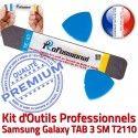 T2110 iLAME Samsung Galaxy Outils Professionnelle Remplacement Compatible Réparation KIT Qualité SM Vitre Démontage TAB 3 Tactile iSesamo Ecran