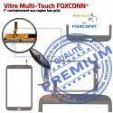 Samsung Galaxy SM-T3100 TAB3 N PREMIUM Assemblée Noire Verre Qualité Ecran Vitre inch Supérieure Tactile Coller 8 en à Prémonté