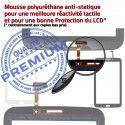 Samsung Galaxy SM-T2110 Tab3 N Noire 7 Prémonté TAB3 Verre Tactile Ecran Vitre Supérieure PREMIUM Assemblée en Adhésif LCD Qualité