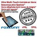 iPad2 Apple A1395 A1396 A1397 P1 Vitres en Version Ecrans Home 10 Adhésif Oléophobe Multi-Touch 2 Bouton iPad Originale épais Tactiles plus Prémontés Verre