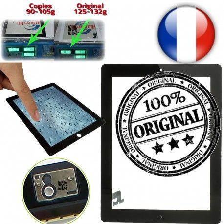 iPad2 Apple A1395 A1396 A1397 P6 Prémontés Originale Home Bouton Verre Vitres Adhésif 6 Ecrans 2 épais Tactiles Oléophobe iPad en Version plus Multi-Touch