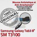 Samsung Galaxy SM-T3100 TAB3 Ch Connecteur OFFICIELLE T3100 Nappe de 3 TAB Charge MicroUSB Contacts Chargeur Réparation ORIGINAL Dorés Qualité SM