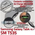 Samsung Galaxy TAB 4 SM-T535 Ch Nappe Chargeur de Réparation OFFICIELLE Charge Dorés MicroUSB Qualité Contacts TAB4 Connecteur ORIGINAL