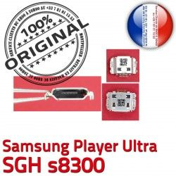 USB Dock Pins s8300 SGH souder Flex de Samsung à Prise Connecteur Connector Micro ORIGINAL Dorés Chargeur C Player Ultra charge