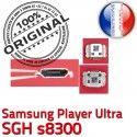Samsung Player Ultra SGH s8300 C à charge Connector Micro USB de Dock Pins Connecteur Chargeur Prise ORIGINAL souder Flex Dorés