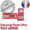 Samsung Player Ultra SGH s8300 C à charge Connector Micro USB de Dock Pins Connecteur Chargeur Prise ORIGINAL souder Flex Dorés