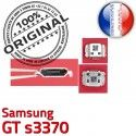 Samsung GT s3370 C Flex charge à ORIGINAL de USB Dock Dorés Connector Portable Prise Chargeur Micro Pins souder Connecteur
