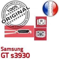 Flex Pins Prise souder USB Connector Chargeur s3930 ORIGINAL Micro C Connecteur Dorés de à GT Portable charge Samsung Dock