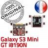 Samsung Galaxy S3 GT-i8190N Chg Mini Dorés Connecteur Prise Pins USB Connector charge souder Flex Chargeur ORIGINAL Dock à de Micro