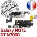 Samsung Galaxy NOTE GT N7000 C MicroUSB Antenne Connecteur ORIGINAL Nappe Qualité Charge RESEAU Chargeur OFFICIELLE Microphone Prise
