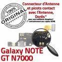 Samsung Galaxy NOTE GT N7000 C Microphone ORIGINAL Nappe Qualité Chargeur RESEAU Antenne Charge OFFICIELLE Connecteur Prise MicroUSB