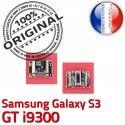 Samsung Galaxy S3 GT i9300 C de Pins Chargeur souder Dock à ORIGINAL Connector Flex Micro Connecteur Dorés Prise USB charge