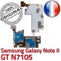 Samsung Galaxy NOTE2 GT N7105 S Contact Carte Connector SIM Reader Nappe Qualité II ORIGINAL Doré Micro-SD Connecteur Memoire Lecteur NOTE