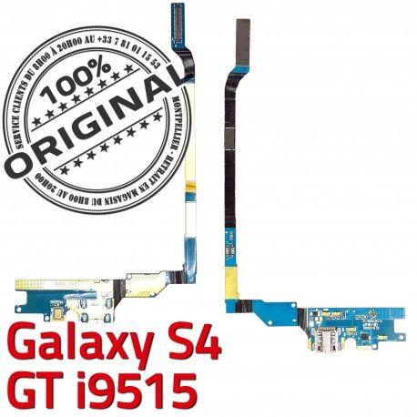 Samsung Galaxy S4 GT i9515 C MicroUSB Antenne RESEAU Chargeur Nappe Microphone Prise OFFICIELLE Qualité Connecteur ORIGINAL Charge