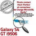 Samsung Galaxy S4 GT i9506 C Qualité Microphone MicroUSB ORIGINAL RESEAU Antenne Connecteur Prise Chargeur Nappe OFFICIELLE GT-i9506 Charge