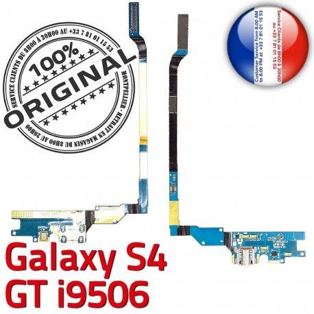 Samsung Galaxy S4 GT i9506 LTEAC Charge Connecteur Prise MicroUSB Antenne Chargeur Qualité RESEAU Microphone OFFICIELLE Nappe ORIGINAL