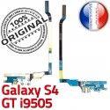 Samsung Galaxy S4 GT i9505 C Microphone Qualité ORIGINAL Antenne OFFICIELLE RESEAU Connecteur Charge Chargeur Nappe Prise MicroUSB