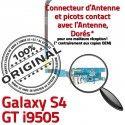 Samsung Galaxy S4 GT i9505 C RESEAU Antenne Charge OFFICIELLE Nappe Connecteur MicroUSB Chargeur Qualité Microphone ORIGINAL Prise