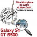 Samsung Galaxy S4 GT i9500 C Chargeur Charge MicroUSB Nappe RESEAU Connecteur Microphone ORIGINAL Antenne Qualité Prise OFFICIELLE