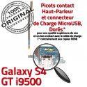 Samsung Galaxy S4 GT i9500 C Microphone Nappe Qualité Chargeur RESEAU Charge Prise OFFICIELLE Antenne ORIGINAL MicroUSB Connecteur