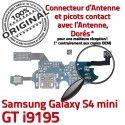 Samsung Galaxy S4 Min GTi9195 C Microphone i9195 Chargeur Charge S Qualité Antenne ORIGINAL Connecteur RESEAU OFFICIELLE Nappe Prise MicroUSB 4