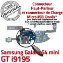 Samsung Galaxy S4 Min GTi9195 C Nappe Antenne Prise RESEAU Chargeur Microphone Connecteur MicroUSB Charge S Qualité OFFICIELLE i9195 ORIGINAL 4