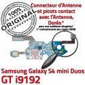 Samsung Galaxy S4 Duo GTi9192 C Microphone S Prise Duos Qualité 4 Connecteur GT MicroUSB Chargeur OFFICIELLE RESEAU i9192 Charge Nappe ORIGINAL