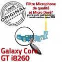 Samsung Galaxy Core GT i8260 C Antenne RESEAU Connecteur MicroUSB Chargeur ORIGINAL Charge OFFICIELLE Qualité Microphone Prise Nappe